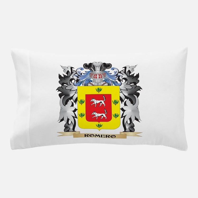 Romero Coat of Arms - Family Crest Pillow Case