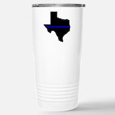 Thin Blue Line (Texas) Travel Mug