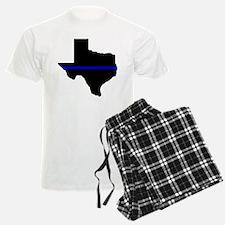 Thin Blue Line (Texas) Pajamas