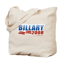 Billary 2008 Tote Bag
