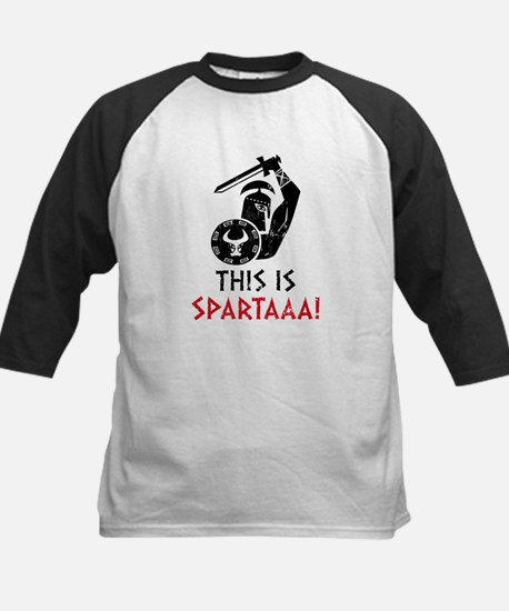 This is Sparta! Kids Baseball Jersey