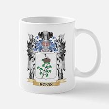 Ronan Coat of Arms - Family Crest Mugs