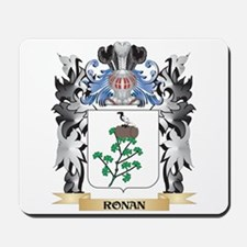 Ronan Coat of Arms - Family Crest Mousepad