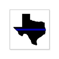 Thin Blue Line (Texas) Sticker
