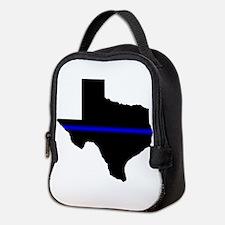 Thin Blue Line (Texas) Neoprene Lunch Bag