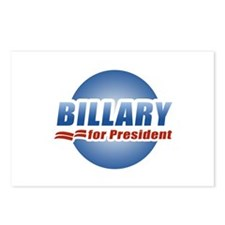 Billary for President Postcards (Package of 8)