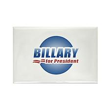 Billary for President Rectangle Magnet