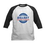 Billary for President Kids Baseball Jersey