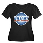 Billary for President Women's Plus Size Scoop Neck