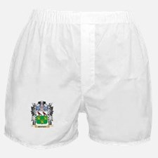 Rooney Coat of Arms - Family Crest Boxer Shorts