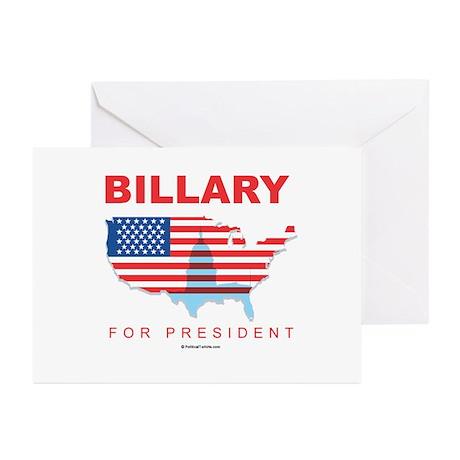Billary for President Greeting Cards (Pk of 20)