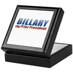 Billary for President Keepsake Box