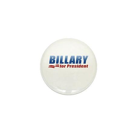 Billary for President Mini Button