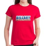 Billary for President Women's Dark T-Shirt