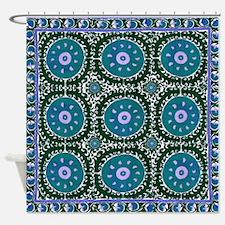 Bohemian Suzani Shower Curtain