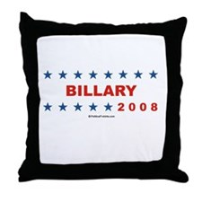 Billary 2008 Throw Pillow
