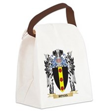 Rosas Coat of Arms - Family Crest Canvas Lunch Bag