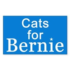 Cats for Bernie Decal