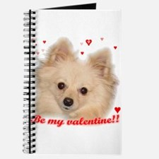 Valentine Pomeranian Journal