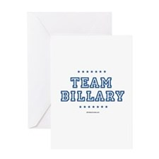 Billary for President Greeting Card