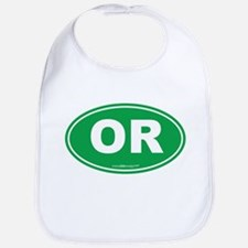 Oregon OR Euro Oval Bib