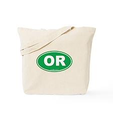 Oregon OR Euro Oval Tote Bag