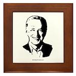 Joe Biden Face Framed Tile