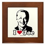 I Love Joe Framed Tile