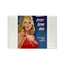 Funny Thriller Rectangle Magnet (10 pack)