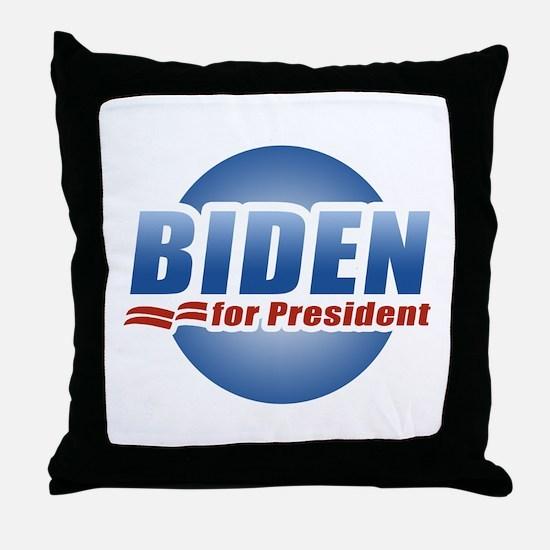 Biden for President Throw Pillow