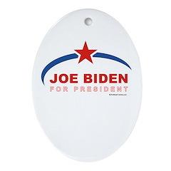 Joe Biden for President Oval Ornament