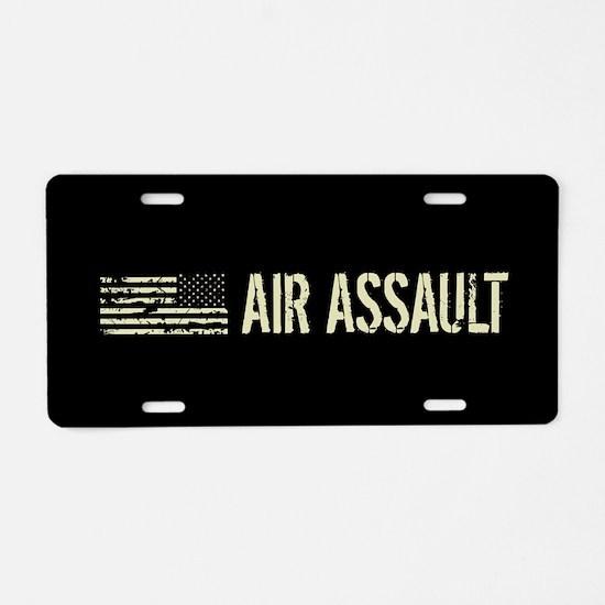 Black Flag: Air Assault Aluminum License Plate