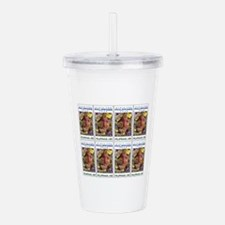 Visit the Philippines Acrylic Double-wall Tumbler