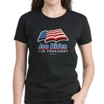 Joe Biden for President Women's Dark T-Shirt