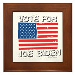 Vote for Joe Biden Framed Tile