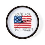 Vote for Joe Biden Wall Clock
