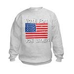 Vote for Joe Biden Kids Sweatshirt