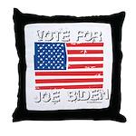 Vote for Joe Biden Throw Pillow