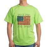 Vote for Joe Biden Green T-Shirt