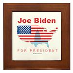 Joe Biden for President Framed Tile