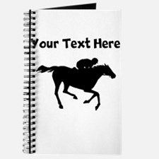 Horse Racing Silhouette Journal