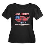 Joe Biden for President Women's Plus Size Scoop Ne