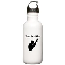 Diver Silhouette Water Bottle