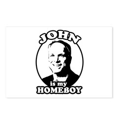 JOHN IS MY HOMEBOY Postcards (Package of 8)