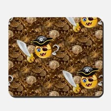 pirate emojis Mousepad