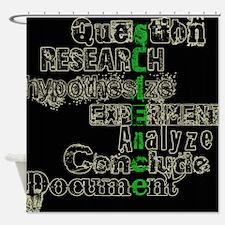 Unique Scientists Shower Curtain