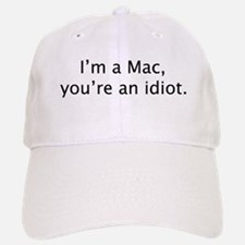 """I'm a Mac"" Baseball Baseball Cap"