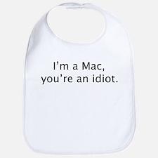"""""""I'm a Mac"""" Bib"""