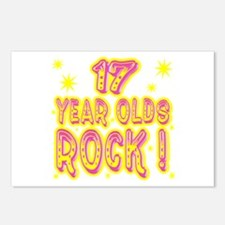 17 Year Olds Rock ! Postcards (Package of 8)