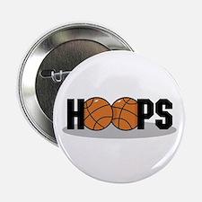 Basketball Hoops Button
